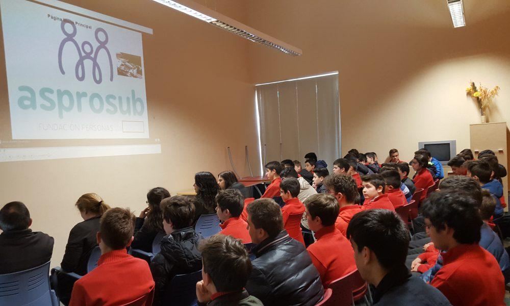 El Seminario SAN ATILANO visita ASPROSUB Fundación Personas