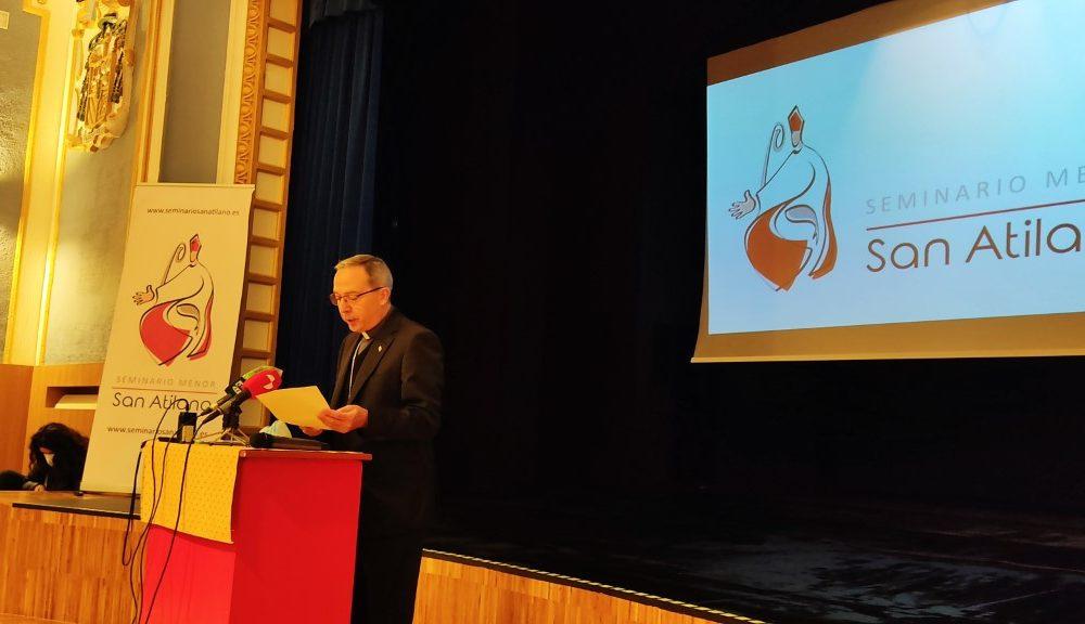 Bendición del nuevo salón de actos del Seminario san Atilano